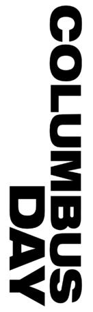 Columbus Day - Logo (xs thumbnail)