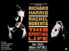 This Sporting Life - British Movie Poster (xs thumbnail)