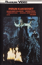Twins of Evil - Finnish VHS movie cover (xs thumbnail)