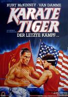 No Retreat, No Surrender - German Movie Poster (xs thumbnail)