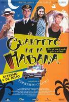 Cuarteto de La Habana - Spanish poster (xs thumbnail)