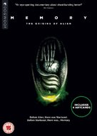 Memory: The Origins of Alien - British DVD movie cover (xs thumbnail)
