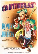 Romeo y Julieta - Mexican Movie Poster (xs thumbnail)