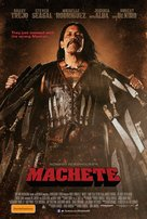 Machete - Australian Movie Poster (xs thumbnail)
