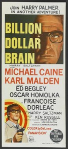 Billion Dollar Brain - Australian Movie Poster (xs thumbnail)