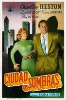 Dark City - Spanish Movie Poster (xs thumbnail)