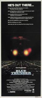 Blue Thunder - Australian Theatrical movie poster (xs thumbnail)