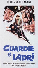 Guardie e ladri - Italian Movie Poster (xs thumbnail)