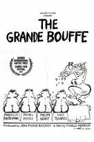 La grande bouffe - Movie Poster (xs thumbnail)