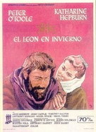The Lion in Winter - Spanish Movie Poster (xs thumbnail)