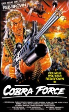 Strike Commando - German VHS cover (xs thumbnail)