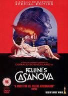Il Casanova di Federico Fellini - British DVD cover (xs thumbnail)