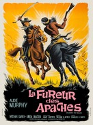Apache Rifles - French Movie Poster (xs thumbnail)