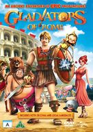 Gladiatori di Roma - Danish DVD cover (xs thumbnail)