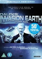 Daleks' Invasion Earth: 2150 A.D. - British DVD cover (xs thumbnail)