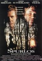 The Vanishing - German Movie Poster (xs thumbnail)