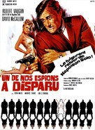 One of Our Spies Is Missing - French Movie Poster (xs thumbnail)