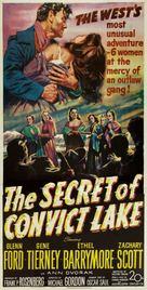 The Secret of Convict Lake - Movie Poster (xs thumbnail)