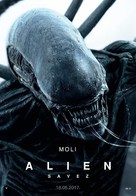 Alien: Covenant - Croatian Movie Poster (xs thumbnail)