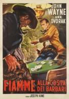 Flame of Barbary Coast - Italian Movie Poster (xs thumbnail)