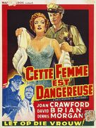 This Woman Is Dangerous - Belgian Movie Poster (xs thumbnail)