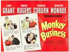 Monkey Business - British Movie Poster (xs thumbnail)