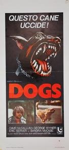 Dogs - Italian Movie Poster (xs thumbnail)
