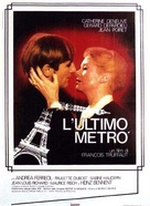 Le dernier métro - Italian Movie Poster (xs thumbnail)