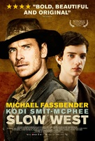 Slow West - Danish Movie Poster (xs thumbnail)