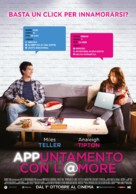 Two Night Stand - Italian Movie Poster (xs thumbnail)