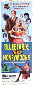 Bluebeard's Ten Honeymoons - Movie Poster (xs thumbnail)