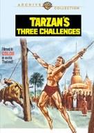 Tarzan's Three Challenges - Movie Cover (xs thumbnail)