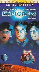 Explorers - VHS movie cover (xs thumbnail)