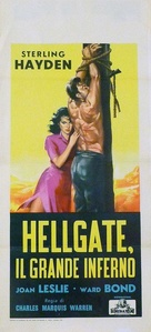 Hellgate - Italian Movie Poster (xs thumbnail)