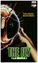 The Fly - Spanish VHS cover (xs thumbnail)