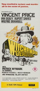 Witchfinder General - Australian Movie Poster (xs thumbnail)