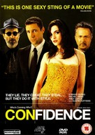 Confidence - British DVD movie cover (xs thumbnail)