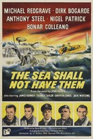 The Sea Shall Not Have Them - British Movie Poster (xs thumbnail)