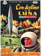 Destination Moon - Spanish Movie Poster (xs thumbnail)