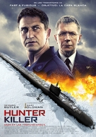 Hunter Killer - Spanish Movie Poster (xs thumbnail)