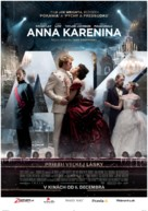 Anna Karenina - Slovak Movie Poster (xs thumbnail)