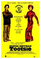 Tootsie - Spanish Movie Poster (xs thumbnail)