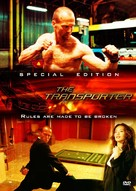 The Transporter - DVD cover (xs thumbnail)