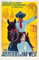 The Lone Ranger - French Movie Poster (xs thumbnail)