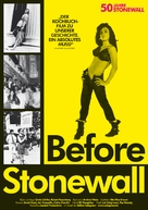 Before Stonewall - German Movie Poster (xs thumbnail)