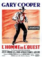 Man of the West - French Movie Poster (xs thumbnail)