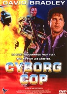 Cyborg Cop - French DVD cover (xs thumbnail)