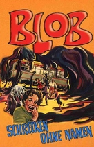 The Blob - German VHS movie cover (xs thumbnail)