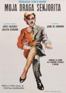 Mi querida señorita - Yugoslav Movie Poster (xs thumbnail)