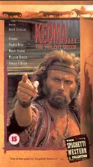 Keoma - British VHS movie cover (xs thumbnail)